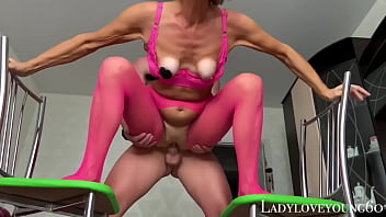 Granny asked me to fuck her fill pussy with fresh semen sperm