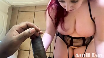 THICK REDHEAD PAWG FUCKS BBC PORNSTAR IN KITCHEN (ANDI RAY AND JACK BLAQUE)