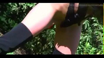 Spying on Mom in the garden Wanking in heels See pt2 at goddessheelsonline.co.uk