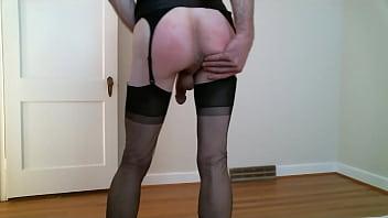 Transvestite nylons galleries pics Blacknylonssatin-trailer