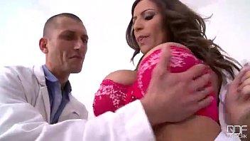 Horny Nurse With Perfect Tits Fucks The Doctor Senseless thumbnail
