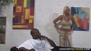 bbc anal pain - Tia Gunn And Angel Cakes Fucks Black Dick thumbnail