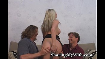 Hot Blonde Wifey With New Guy
