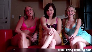 Eat three loads of your own cum CEI