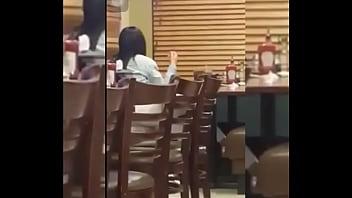 Se mansturban en restaurante dennys