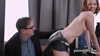 Lovely schoolgirl was teased and fucked by her older tutor