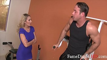 MILF Blows & Fucks Fitness Instructor- HOT GYM SEX