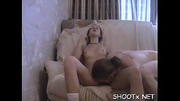 Extrait de video de sex amateur - Aroused amateurs make a clip of their pleasing lovemaking