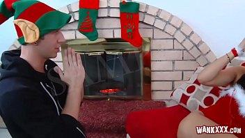 Geile Stiefmutter in Weihnachten