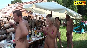 Camping party hardcore 4 porno izle