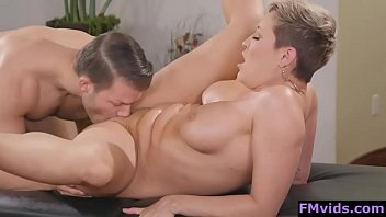 Ryan Keely fucked by horny masseur