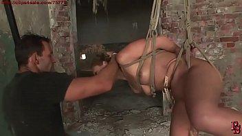 Pretty sex bomb gets her cruel training. BDSM bondage sex movie. ภาพขนาดย่อ