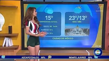 La chica del clima - Yanet Garcia