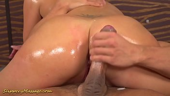 real slippery big cock nuru sex massage