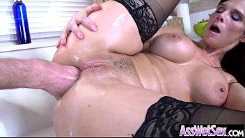 (syren de mer) Girl With Curvy Huge Butt Enjoy Anal video-30
