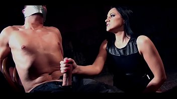 Man tied intense hand job - Clair brooks and prey tied down to chair tapegagged