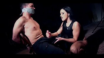 Clair Brooks and prey tied down to chair tapegagged thumbnail