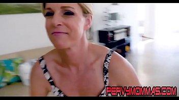 Kinky milf pov riding stepsons cock and giving blowjob