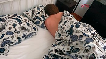 Fisting hot wife while she sleeps