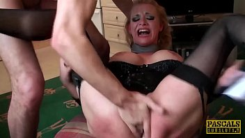 PASCALSSUBSLUTS - Anita Vixen fed cum after anal domination