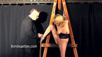 Sexual bondage domination Amateur blonde weekays dungeon bondage and sexual domination of damsel in distre