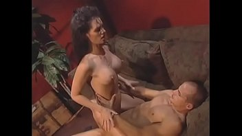 Highlystrung dude walked in on his juicy darkhaired wife with big boobs Victoria Givens with lover and took the Dutch cure