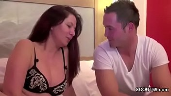 MILF Mother Seduce Young Boy When Home Alone