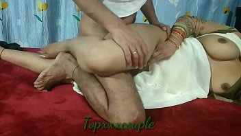 Beautiful hard sex with neighbor's cute wife by young Indian  -2