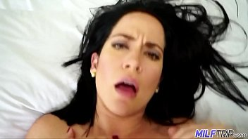 MILF Trip - Thick brunette MILF Gets fucked by skinny guys big cock - Part 2