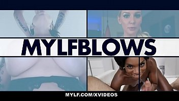 MYLF - Beautiful Milf Drains Her Stepson's Cock For Christmas