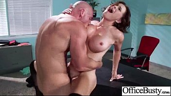 Sexy Girl (krissy lynn) With Big Melon Tits Fucked In Office movie-22