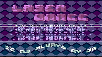 AMIGA DEMO SLIDESHOW Sexy Bitches 4 AMIGA OCS 19xx Lazer Dance a XXX TEXT SCROLLER COMMODORE
