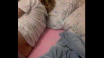 Minha mulher dormindo de calcinha