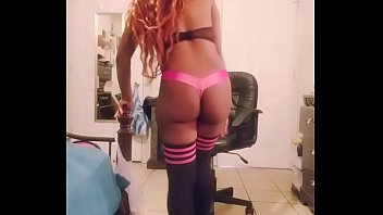 Double dancing video in pink thong and sexy thi... | Video Make Love