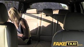 Fake Taxi Creampie ride for a cheerleader thumbnail