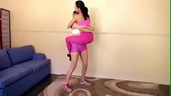 BOZO 34 Ashley Wildcat lifting carrying girl