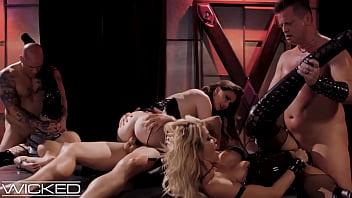 Wicked - jessica drake Organizes Orgy In Kinky Underground Sex Club
