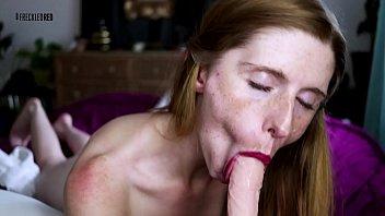 Nude freckle girl Gf cums 1st. cei joi