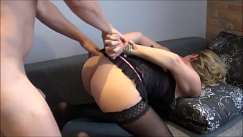 Slut Wife BoundGets Tied Up and Dicked to Strong Squirting Orgasm