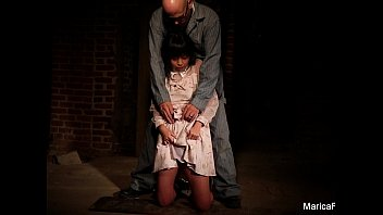 Marica Hase gets tied up