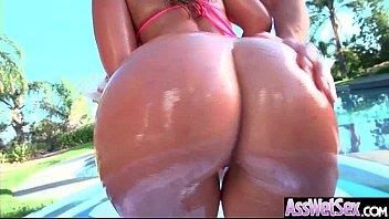 (Kelsi Monroe) Huge Butt Oiled Girl Enjoy Anal Hardcore Intercorse clip-22