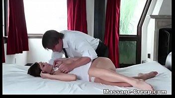 Mountain cabin massaje and sex