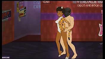 Porno Game.Play Me A Мelody.Interracial sex.White Man.Black Woman.11DeadFace