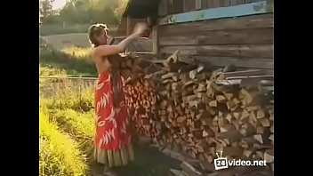 Movies busty hairy Busty russian blonde beauty with hairy pussy and huge tits fucked in countryside