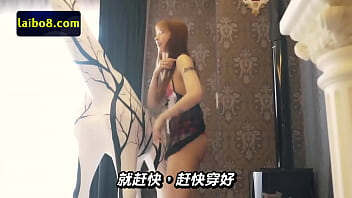 หญิงสาวที่มาโชว์การกิน แต่ดันมีร่างกายที่ยั่วยวนเกินไปเลียหี
