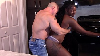 Black Beauty with a big booty grinding dick till orgasm (Interracial) preview image