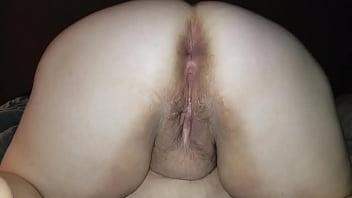 Sexy BBW Anal Creampie