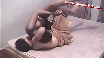 Alexandra vs Diana in Topless Submission Wrestling Fight