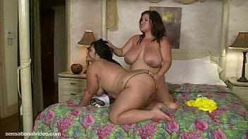 Big Tit Fat Lesbians Lick Each Others Wet Pussy