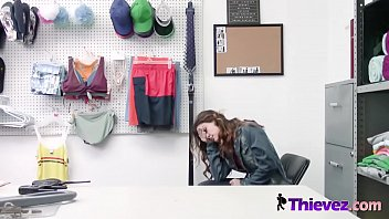 Streaming Video Rough sex for this tiny shoplifter teen that was caught red handed. - XLXX.video